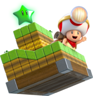 Captain toad 3d world