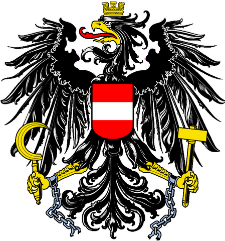 File:Coat of arms of Österreich.png