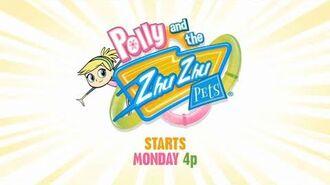 Polly and the Zhu Zhu Pets promo Disney Channel USA