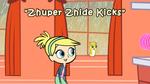 Zhuper Zhide Kicks Title Card