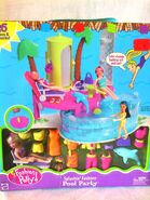Polly Pocket Splashin' Fashion Pool Party Polly