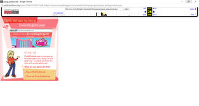 Polly Pocket website 2006 popup