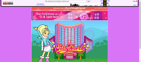 Polly Pocket website 2007 winter