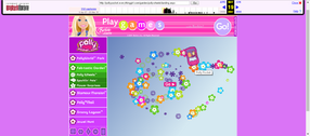 Polly Pocket website 2007 Polly Wheels