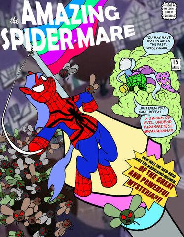 File:The amazing spider mare by midnight cobra-d3e10uj.jpg