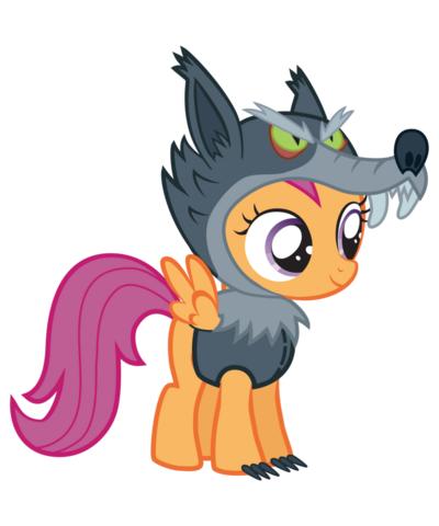 File:Scootaloo nightmare night by vectorshy-d4e9cwb.png