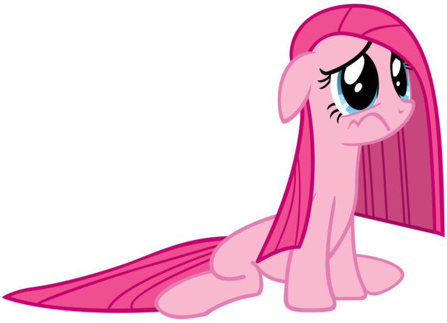 File:Pinkie pie with a deflated mane.png