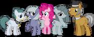 Pinkie pies family