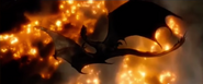 Smaug's Death in The Battle of the Five Armies