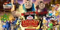 Team Robot In Thomas and Friends: Sodor's Legend of the Lost Treasure (Alternate Version)