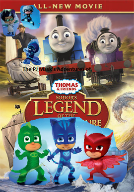The PJ Masks' Adventures of Thomas and Friends Sodor's Legend of the Lost Treasure