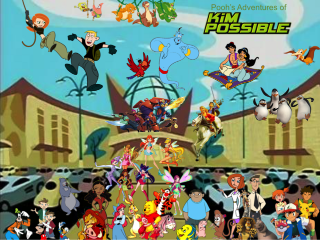 File:Pooh's Adventures of Kim Possible Season 1 Poster (Charmix).png