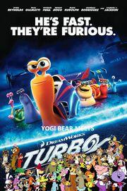 Yogi Bear Meets Turbo poster