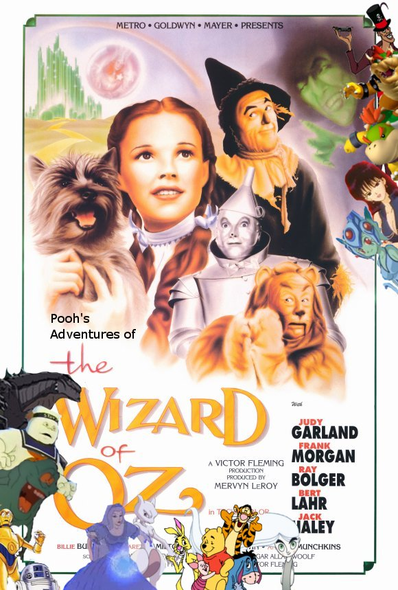 Pooh's Adventures of The Wizard of Oz poster