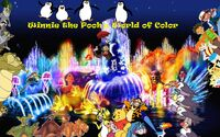 Winnie the Pooh's World of Color Poster (Original)
