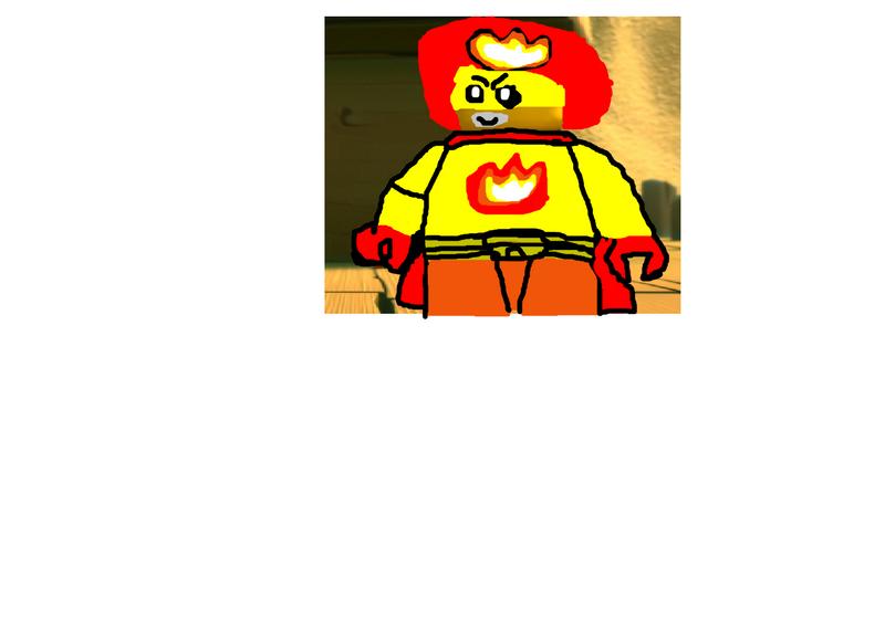 Kai as Captain Fireball