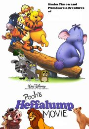 Simba Timon and Pumbaa's adventures of Pooh's Heffalump Movie