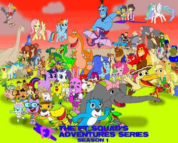 The FT Squad's Adventures Season 1