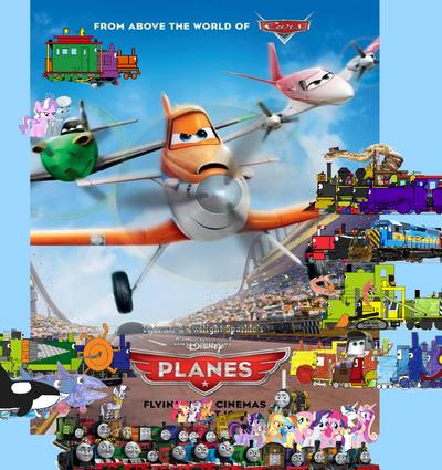 Thomas and Twilight's Adventures of Planes