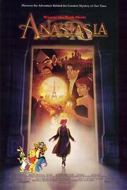 Winnie the Pooh Meets Anastasia Poster