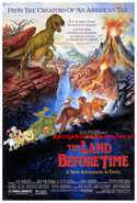 SpongeBob's Adventures of The Land Before Time Poster