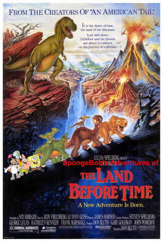 File:SpongeBob's Adventures of The Land Before Time Poster.jpg