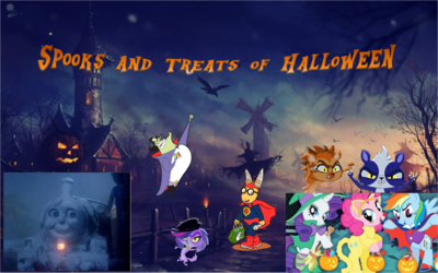 Spooks and Treats of Halloween poster