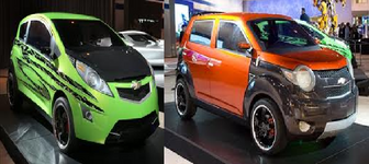 Skids & Mudflap cars