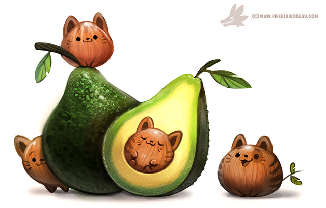 File:Daily paint 1205 avacato by cryptid creations-d9ungyn.png