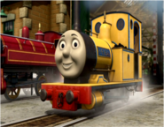 Rheneas in his yellow livery