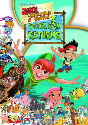 File:Weekenders, Jake and the Never Land Pirates- Peter Pan Returns.jpg