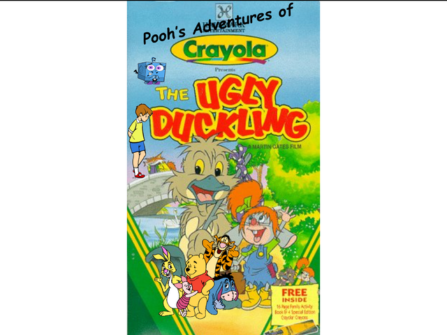 File:Pooh's Adventures of Crayola Presents The Ugly Duckling Logo.png