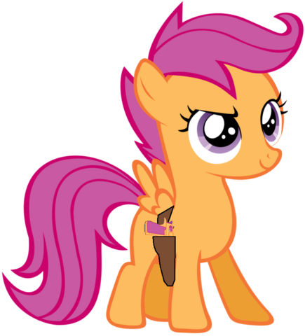 File:Scootaloo with her Desert Eagle.png