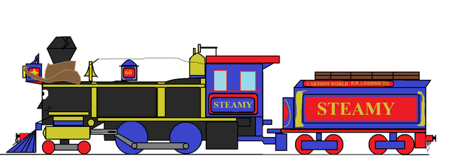 File:Steamy Logging Loco (wearing his stetson).png