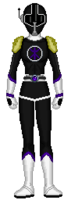 15. Female Black Data Squad Ranger