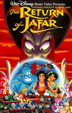 File:Thomas, Twilight Sparkle and the Return of Jafar Poster.jpg