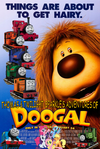 File:Thomas and Twilight Sparkle's Adventures of Doogal Poster.png