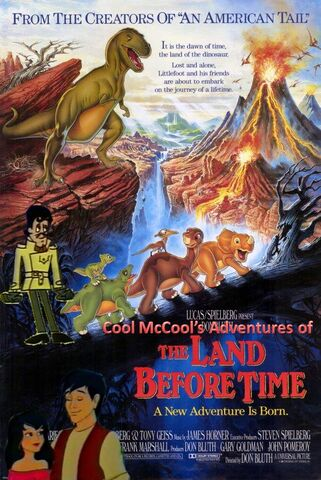 File:Cool McCool's Adventures of The Land Before Time Poster.jpg