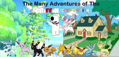 Tha Many Adventure of the Girrifn Evolution family poster