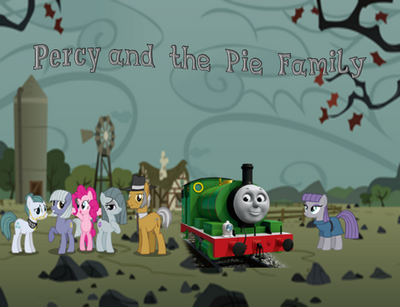 Percy and the Pie family poster
