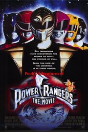 Pooh's Adventures of Mighty Morphin Power Rangers the Movie poster