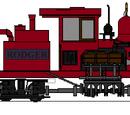 Rodger the logging loco