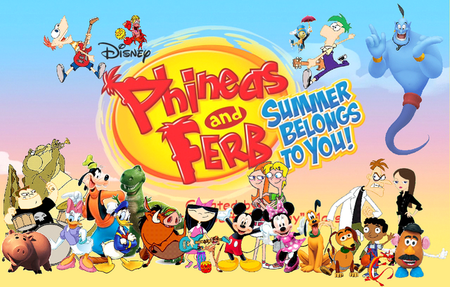 File:Timon and Pumbaa's Adventures of Phineas and Ferb Summer Belongs To You!.png