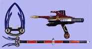 Crimson Blaster and Navy Antler
