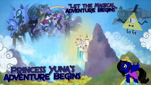 Princess Yuna's Adventure Begins