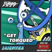 Skidmark on Turbo FAST