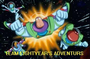 Team Lightyear's Adventures logo
