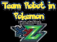 Team Robot In Pokemon XY The Series Logo 3