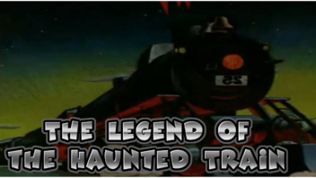 The Legend of the Haunted Train Poster