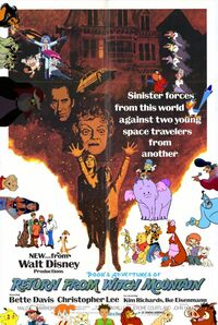 Pooh's Adventures of Return from Witch Mountain Poster